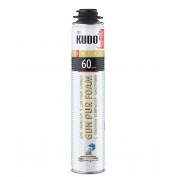 Пена полиуретановая монтажная KUDO TREND WINDOW 60 зимняя