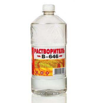 Растворитель В-646  1,0 л (пэт/т) Вершина / упаковка - 12 шт.