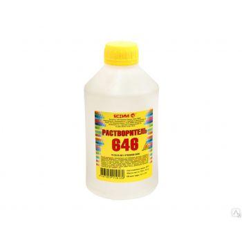 Растворитель 646 ТУ, 0.5 л Ясхим / упаковка - 25 шт.
